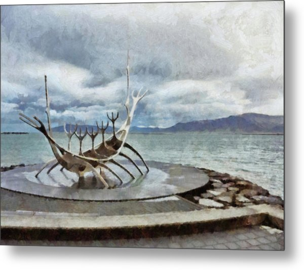 The Sun Voyager Metal Print
