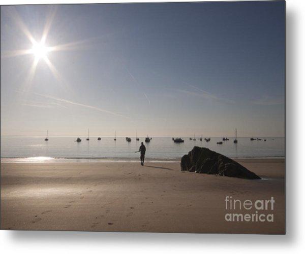 The Sunrise Metal Print by Angel Ciesniarska