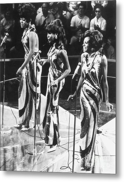 The Supremes, C1963 Metal Print by Granger