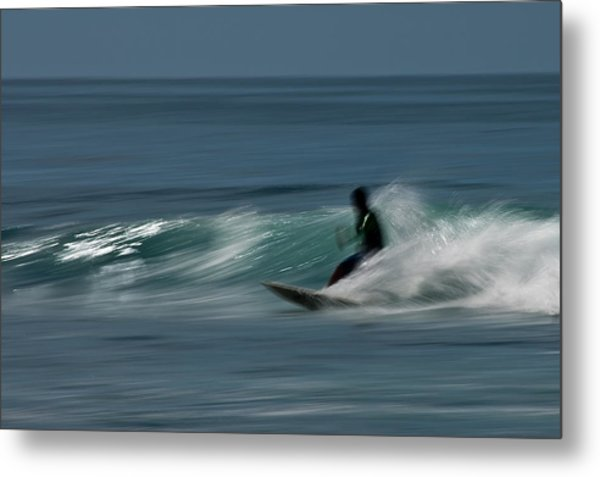 The Surfer Metal Print by R J Ruppenthal