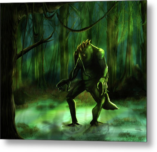 The Swamp Metal Print