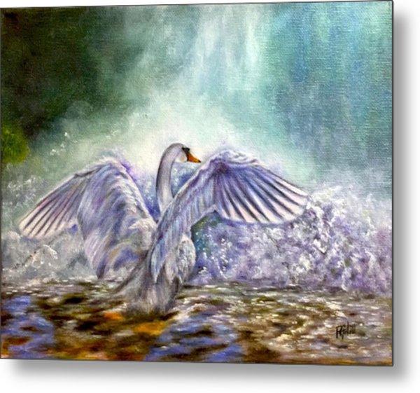 The Swan's Song Metal Print