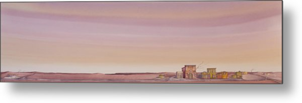 The Sweetest Little Town On The High Plains Metal Print