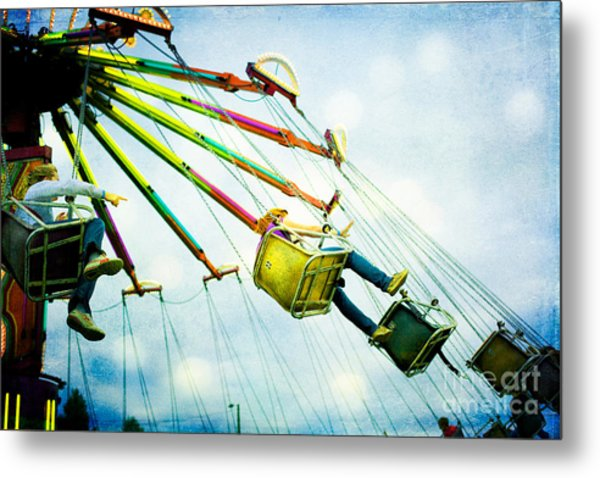 The Swings Metal Print