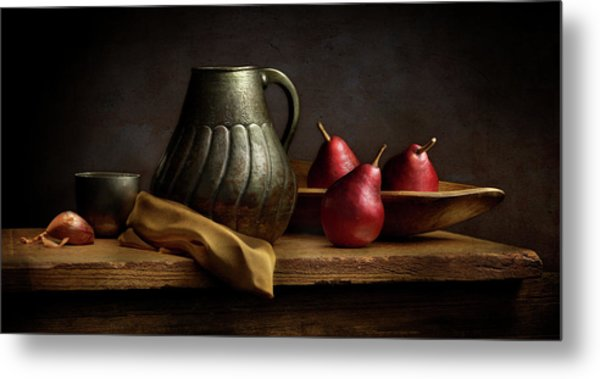 The Table Metal Print