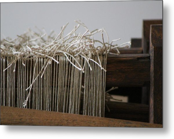 The Tales We Weave In Sepia Photograph Metal Print