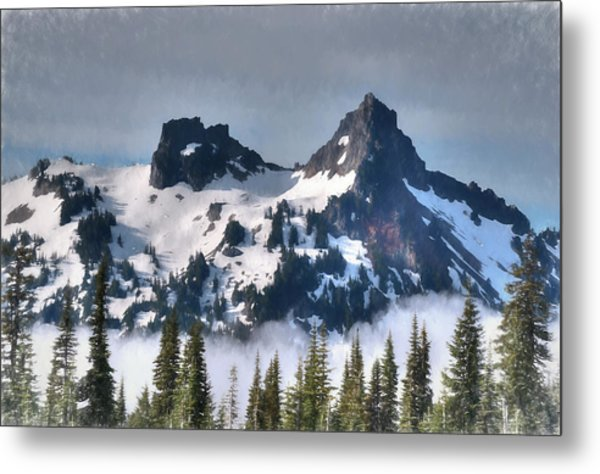 The Tatoosh, Washington, Usa Metal Print
