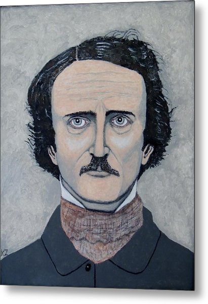 The Telltale Heart Of Edgar Allen Poe. Metal Print
