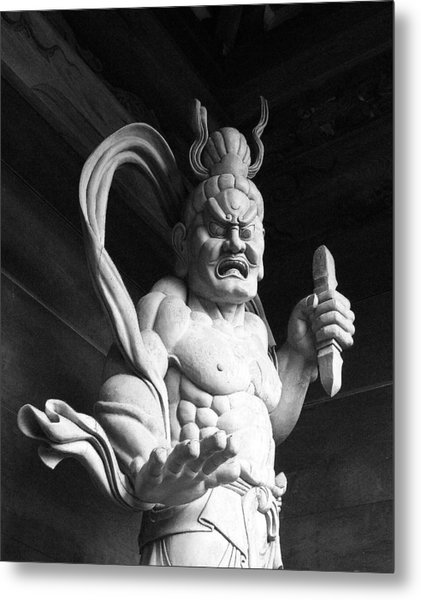 The Temple Guardian Metal Print