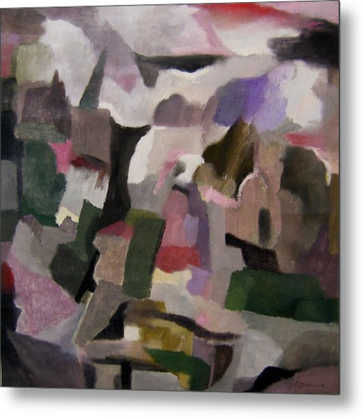 The Thoughts Of Cezanne Metal Print by Adolfo De Turris