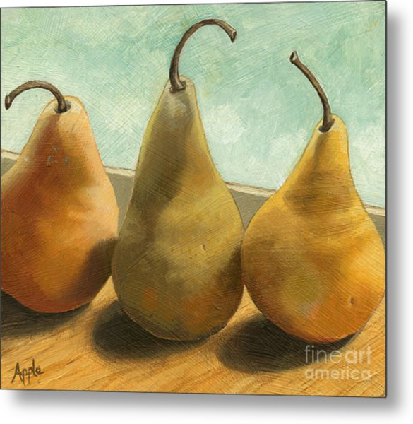 The Three Graces - Painting Metal Print