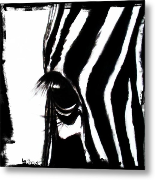 The Three Musketeers - Zebra Metal Print