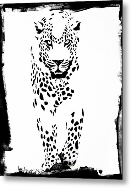 The Three Musketeers - Leopard Metal Print
