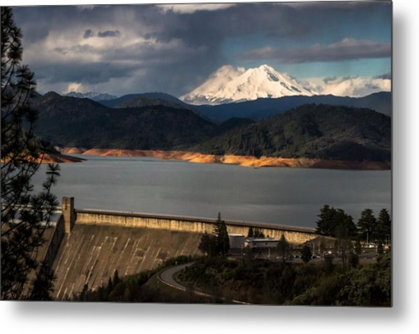 The Three Shasta's Metal Print