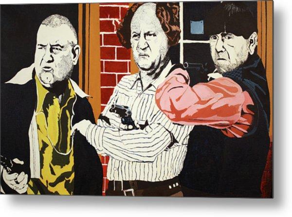 The Three Stooges Metal Print