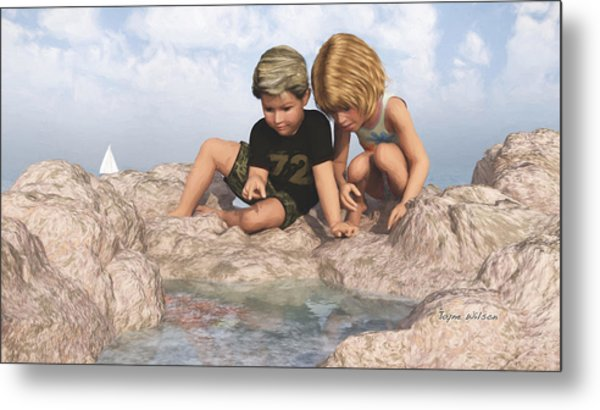The Tide Pool Metal Print