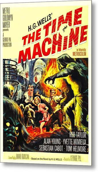 The Time Machine B Metal Print