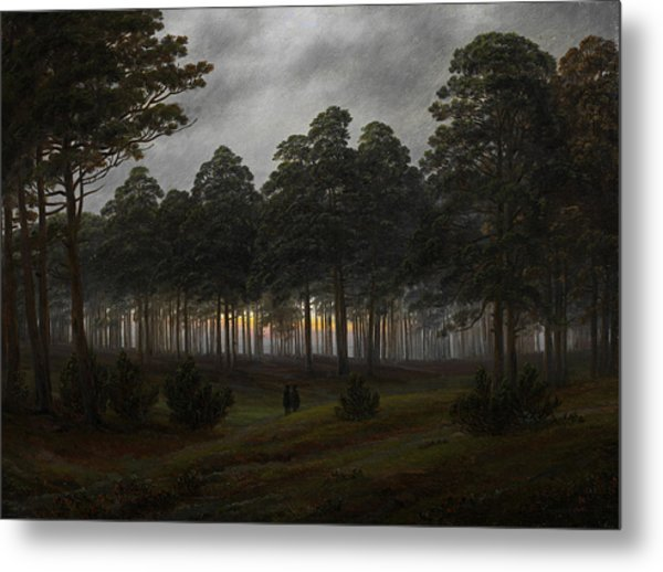The Times Of Day - The Evening Metal Print