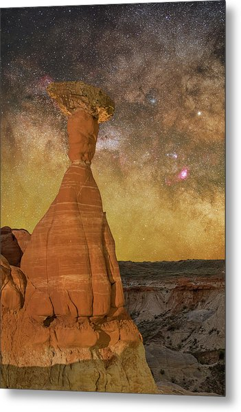 The Toadstool And The Core Metal Print