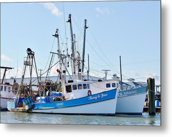 The Tony And Jan - West Ocean City Harbor Metal Print