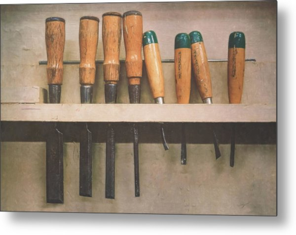 The Tools Of The Trade Metal Print