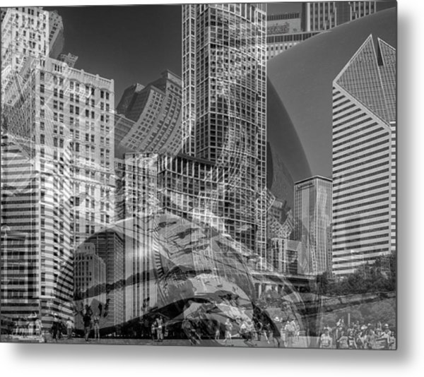 The Tourists - Chicago II Metal Print