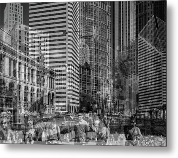 The Tourists - Chicago 03 Metal Print