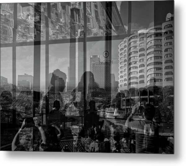 The Tourists - Chicago V Metal Print