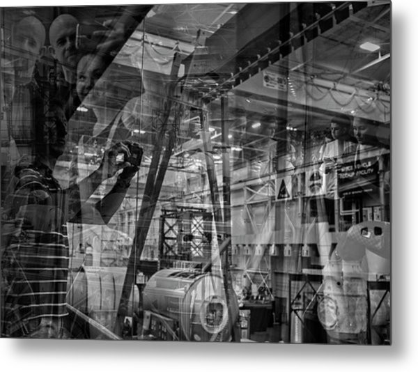 The Tourists - Houston Space Center Nasa Metal Print