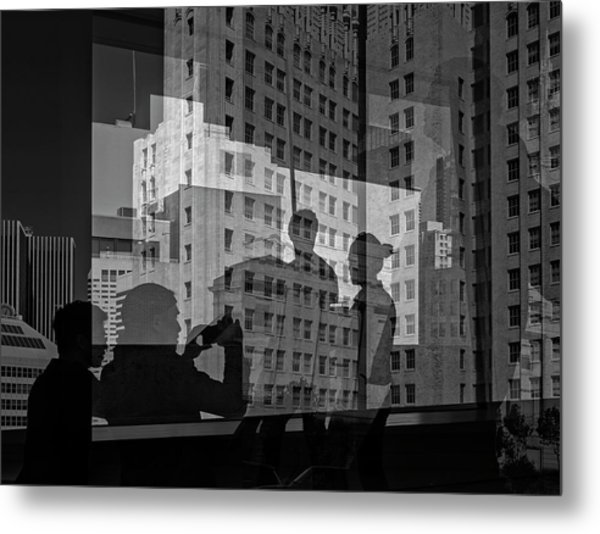 The Tourists - Sfmoma Metal Print