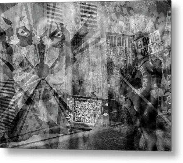 The Tourists - The Mission District Metal Print