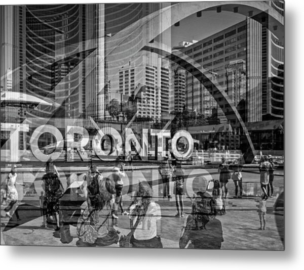The Tourists - Toronto Metal Print