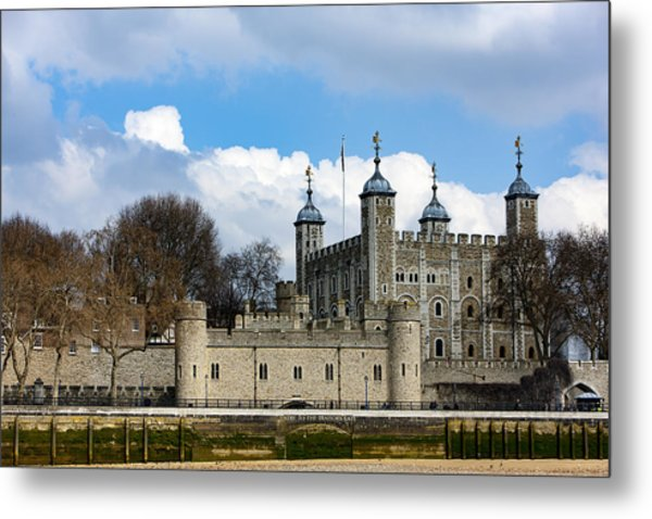 The Tower Of London Metal Print