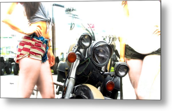 The Town Classic  Metal Print by Steven Digman