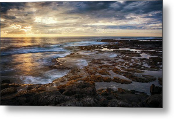 Metal Print featuring the photograph The Tranquil Seas by Susan Rissi Tregoning