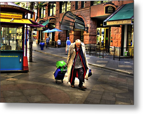 The Traveler Metal Print by Laurie Prentice