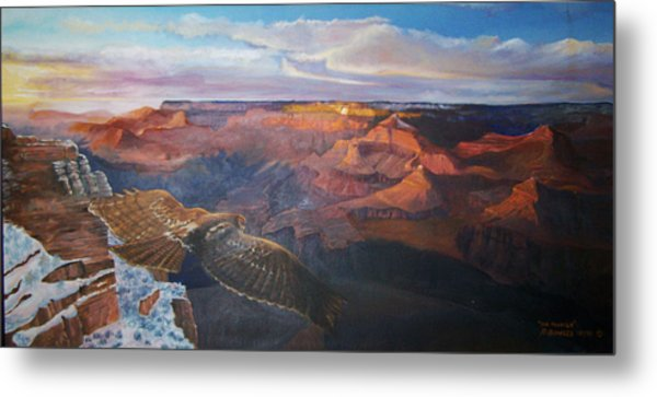 The Traveler Metal Print by Ron Bowles