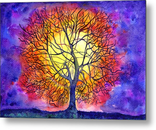 The Tree Of New Life Metal Print