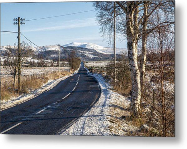 The Trossachs National Park In Scotland Metal Print