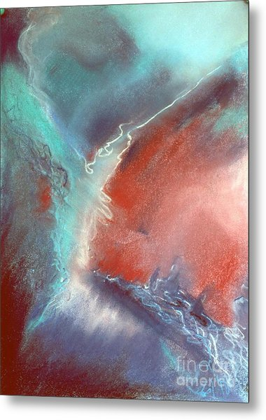 The Trouble Between You And I Metal Print by Shirley McMahon
