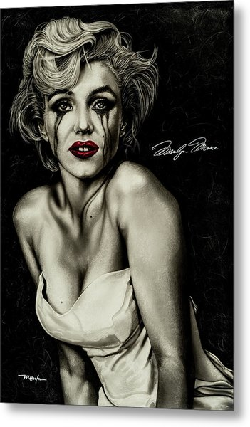 The True Marilyn Metal Print