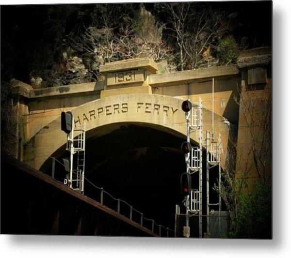 The Tunnel Metal Print by Joyce Kimble Smith