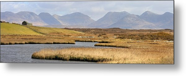 The Twelve Bens Mountains Connemara Ireland Metal Print