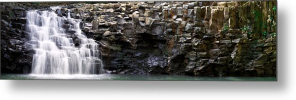 The Twin Falls Metal Print