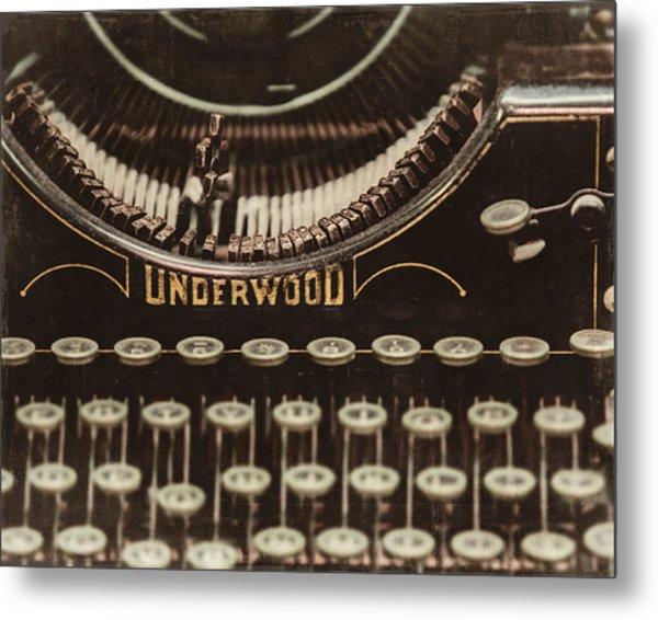The Underwood Metal Print by Lisa Russo