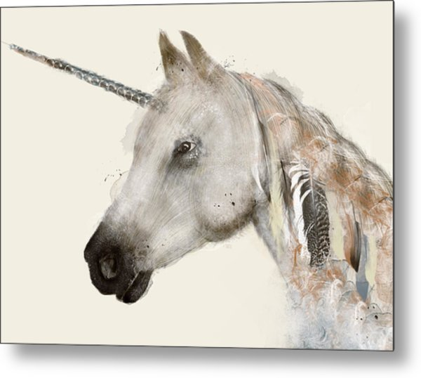 The Unicorn Metal Print