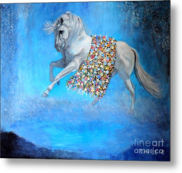 The Unicorn Metal Print