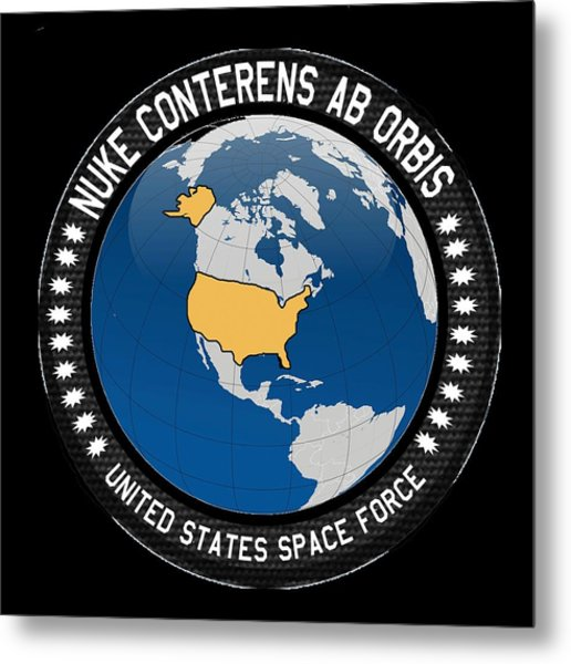 The United States Space Force Metal Print