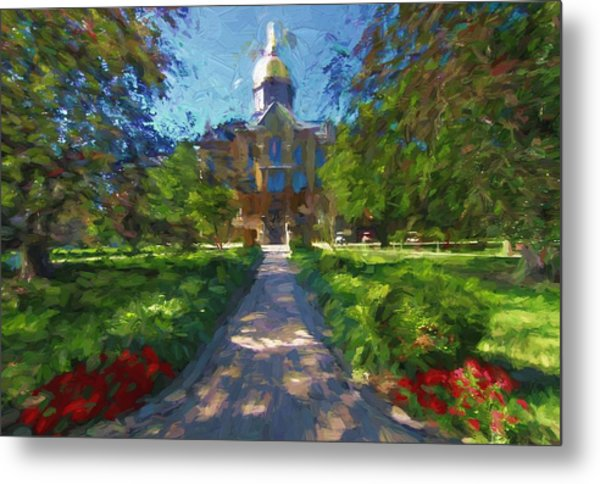 The University Of Notre Dame Metal Print
