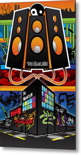 The Urban Life Revamp Metal Print by Devin Green